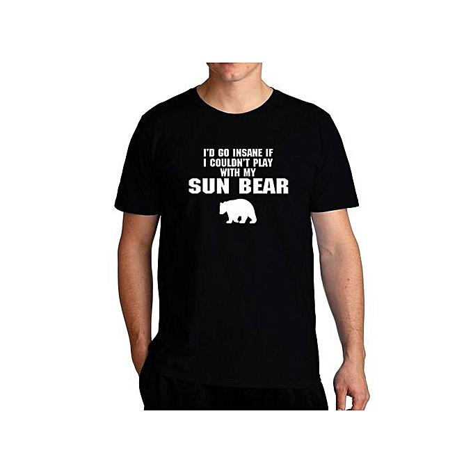 798a9c6f I'd Go Insane If I Couldn't Play With My Sun Bear Cool Men T-Shirt