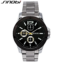 brand casual men wrist watches of back light stainless steel watchband top brand luxury male quartz clock meskie zegarki