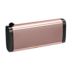 Mini PTH-X20 Wireless Bluetooth Speaker Sports Outdoor Handy USB Handsfree Bass Stereo Subwoofer TF Card Music Player For Phone(Pink)