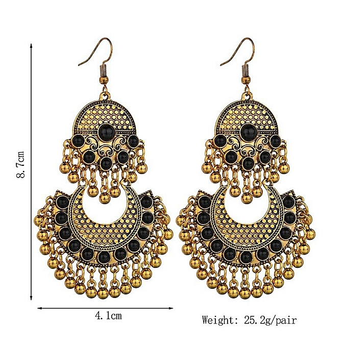 d3688282d33 Generic Gold-Red-Fashion retro earrings with diamonds   Best Price ...