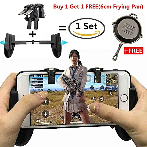 1Set Newest Version Mobile Game Controller Mobile Grip and Gaming Trigger  Fire Button Joysticks L1R1,Sensitive Shoot and Aim Triggers for PUBG,Rules