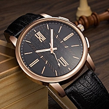 Men Watches Luxury Wrist Watch Male Clock Lightning Shaped