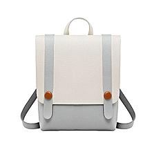 c95d2d37e782f8 Women Backpack School Travel Rucksack Girl Travel Bag - Gray