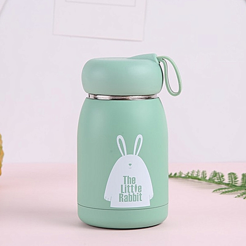 ba6677352d0 320ml Cute Children Vacuum Flask Portable Design Stainless Steel Thermos  Bottle Insulated Cup Fashion Coffee Travel Thermal Mug(320ml)
