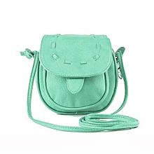 bluerdream-Lovely Cute Girl Pu Leather Mini Small Adjustable Shoulder Bag Handbag MG-As Shown