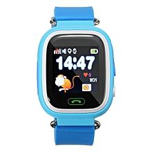 Kid Baby Wifi GPS GSM Smart Watch Wristwatch Call Finder Tracker Anti Lost SOS Blue