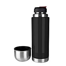 Thermal Bottle Senator 0.5L Black Silver
