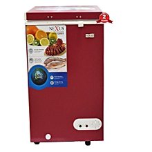 NX 150C - 95 Litres - Chest Freezer-Wine Red