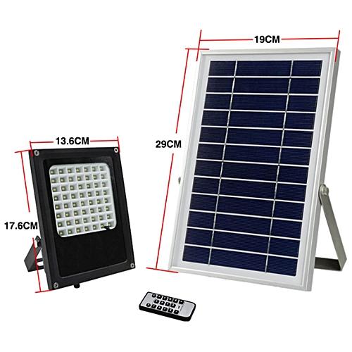 Buy Generic Lebaiqi N500m 56 Leds Solar Flood Light Outdoor
