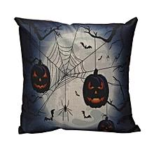 Halloween Ghost Pumpkin Pillow Case Sofa Waist Throw Cushion Cover Home Decor