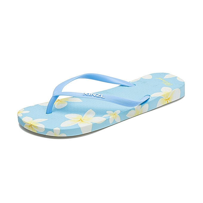 932bb9c7e27b6f New style Women Beach Flip Flops Floral Summer Fashion Slippers Ladies  Comfy Shoes Woman Home Flat ...