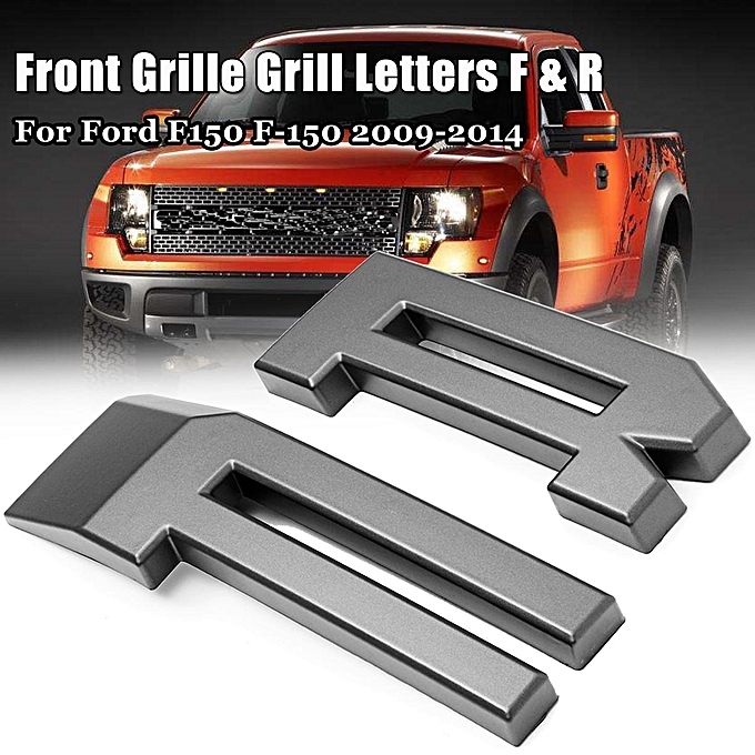 The Ford F Raptor Style Grille Grill Letters F R