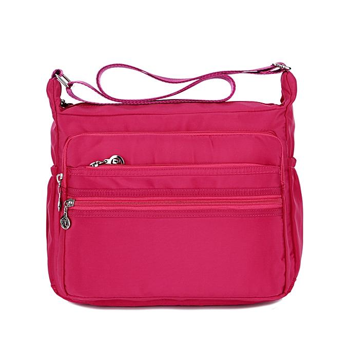 a208d95abe Fashion Large Capacity Women Waterproof Nylon Shoulder Bag Crossbody ...