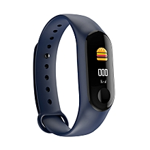 Smart Bracelet M3 Plus Sport Bracelet 0.96 TFT Touch Screen BT 4.0 Fitness Tracker Heart Rate/Blood Pressure Monitoring Pedometer IP67 Waterproof Smart Wristband for iOS Android Smartphones