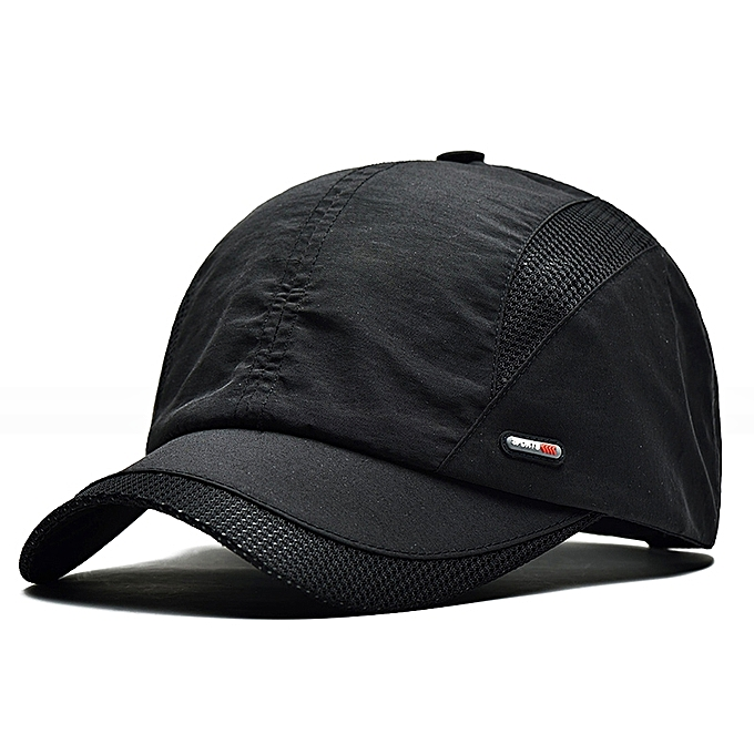 Men Women Summer Breathable Quick Dry Baseball Dad Hat Outdoor Sport Cotton  Peaked Cap 2e2d4470f0