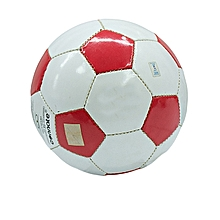 Size 5 Football Machine Stitched Soccer Football Profession - Red & White