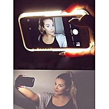 Creative Phone Case With Selfie LED Light For Iphone 6/6s/6 plus/6s plus/7/7 plus____IPHONE 6PLUS/6S PLUS____gold