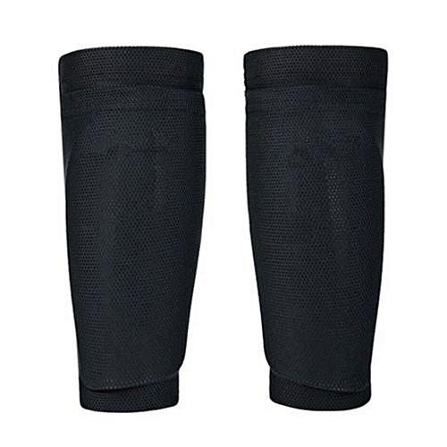 b2adf55bd Generic Leg Pads Men Shin Guard Safety 22CM Fabric Goalkeeper Holder Soccer  Shin Pad Sports Shields