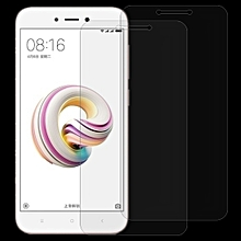 2 PCS For  Xiaomi Redmi 5A 0.26mm 9H Surface Hardness 2.5D Curved Edge Tempered Gl Screen Protector