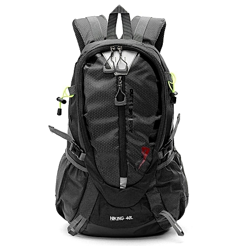 UNIVERSAL 40L Outdoor Travel Unisex Waterproof Sport Luggage Backpack  Rucksack Sports New Black- f40fc6a84fae0