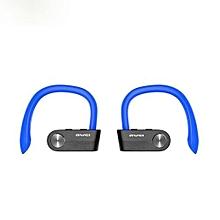 Wireless Earbuds, T2 TWS True Wireless Headphone Mini Bluetooth Headset Sport Noise Cancelling Earphone - Blue