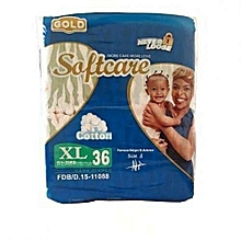 Baby Diapers Extra Large Gold-Count 36-Above 15 Kgs
