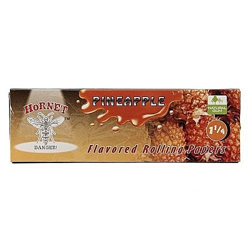 2 Booklets Cigarette Tobacco Rolling Papers 50 Leaves Pineapple
