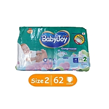 BabyJoy Diapers Size 2 Small (3.5-7kg) 62pcs