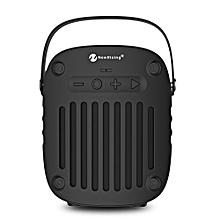 NR - 4014 Portable Wireless Bluetooth Stereo Speaker Mini Player-BLACK