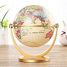 Globe World Desktop Rotating Earth Map Ocean Geography Kid Learn Geography Decor