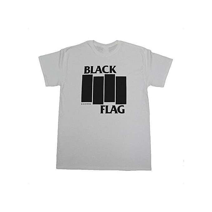 314cdef6 Fashion Summer Men's Black Flag Bars And Logo T-shirt @ Best Price ...