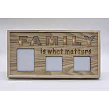 Family Photo Frame Wall Hanging (Wooden)