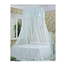 Round decker Mosquito Net - Free Size -White