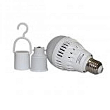 LED Multi-functional Emergency Energy Saving Lamp 15w KM-5819A- White