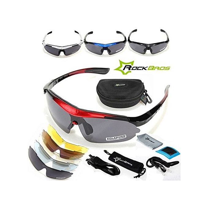 e0b3a164d2 ... RockBros Polarized Cycling Sun Glasses Outdoor Sports Bicycle Glasses  Bike Sunglasses Goggles Eyewear