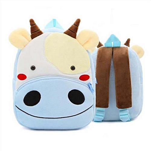2018 Plush Children Backpacks Kindergarten Schoolbag 3D Cartoon Zoo Animal  mochila infantil Children School Bags for d48baa7d55f58