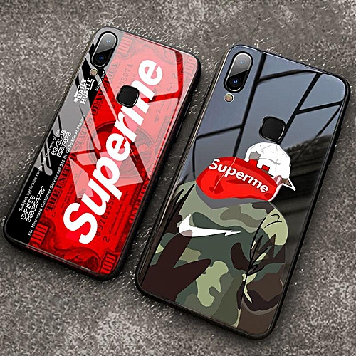Glass Case For VIVO Y91 Y91i Case Tempered Glass Full Cover Supreme Design  Full Protection Casing For VIVO Y91 Y91i (Y91-1)
