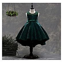 Girl Dress Kids Party Wedding Dresses size 110 - Green