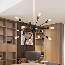 Sputnik Vintage Industrial Chandelier Loft Ceiling Pendant 12 Light Fixture