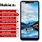 "Nokia X5 5.86""3GB RAM + 32GB ROM Android 8.1 - Black"