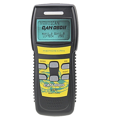 U581 Live Data Can OBDII / EOBDII Scanner Can Bus Code Reader