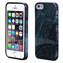 Marble Texture Print Cover Case Skin For iPhone 5s GN-Green