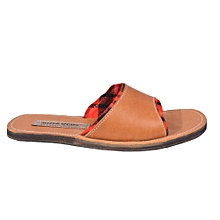 Ladies Leather Slip Ons with Shuka Lining