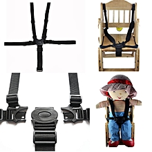 Baby 5 Point Safety Harness Stroller Kids High Chair Pram Buggy Car Belt Strap