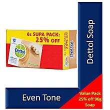 Even Tone Soap Promo Pack X 6