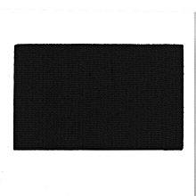 Attractive Shoulder Badge Rectangle Double Side Embroidery Trim Patch Armbands