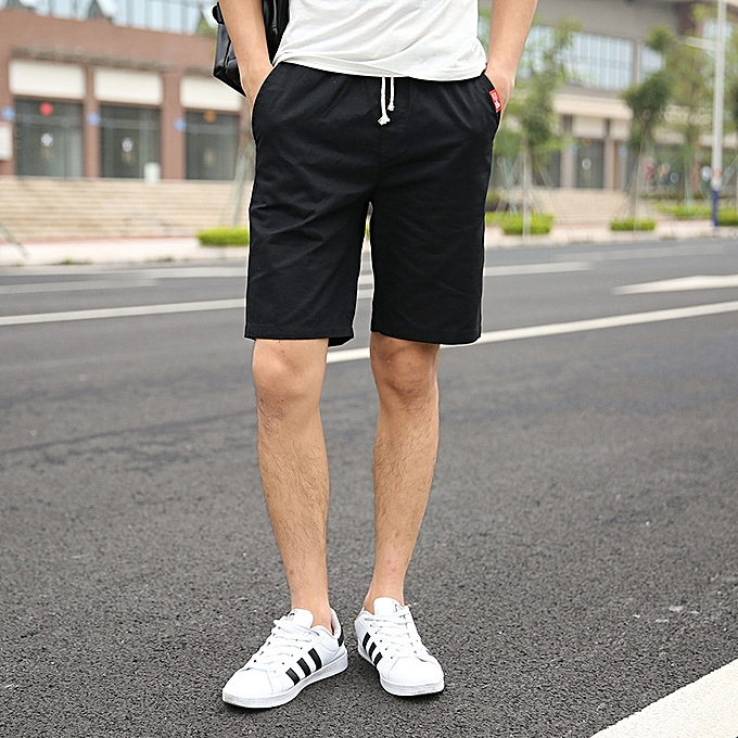 dd99b1988 Fashion Men's Flat Front Shorts Slim Fit Chino Short Pants for Men ...