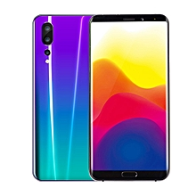 6.1-inch eight-core gradient color smartphone 4+75GB Solid And Practical-Gradient green purple