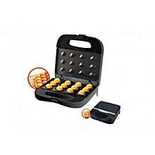 GNM6157-12 Pieces Nut Maker-Plastic-Black