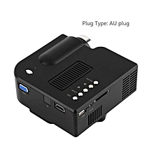 TA-UC28+ Mini Portable HD Projector Home Cinema Theater Upgraded HDMI Interface black